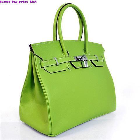 Hermes Bag Price List